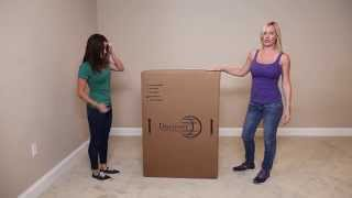 Discovery World Furniture Merlot 5 Drawer Chest Unboxing - Factorybunkbeds.com