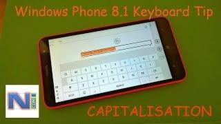 Windows Phone 8.1 Keyboard Tip