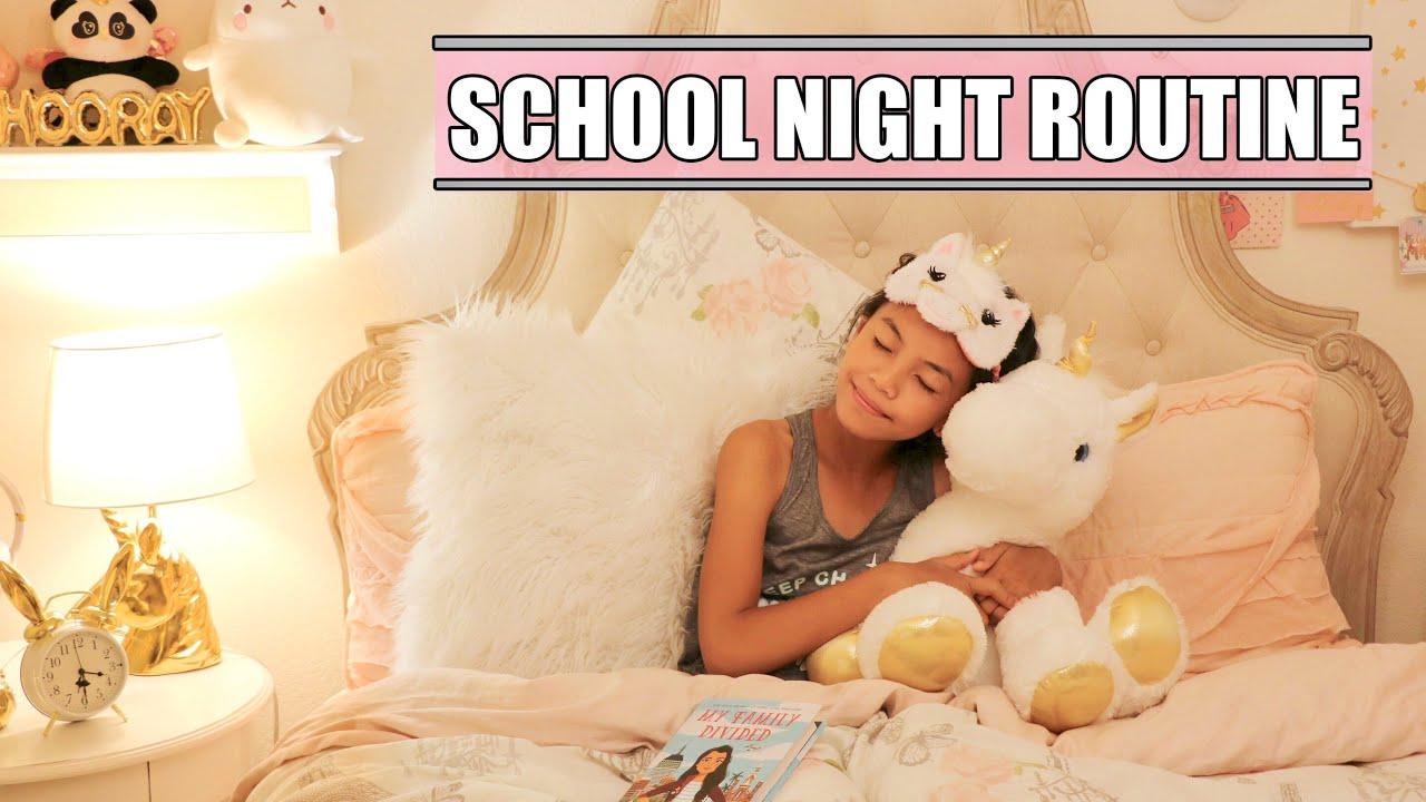 NIGHT ROUTINE!🌙 - YouTube