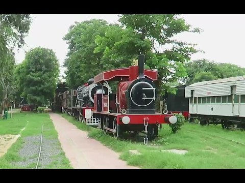National Rail Museum New Delhi : Special Coverage : Old Railway Engines + Coaches : Indian Railways