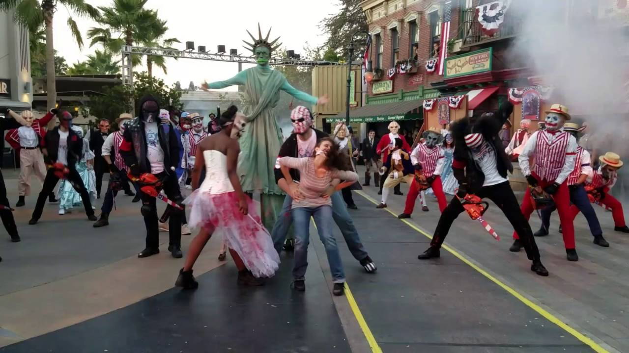 Hollywood Halloween Horror Nights 2016 Opening Scaremony - YouTube