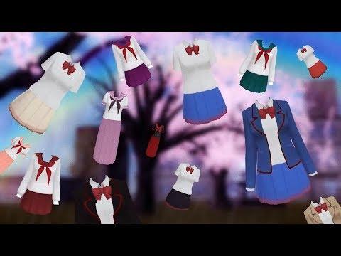 SchoolGirls Simulator: my ideas for uniforms