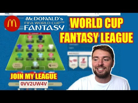 WORLD CUP TASY FOOTBALL 2018! MCDONALDS FIFA! JOIN MY LEAGUE!