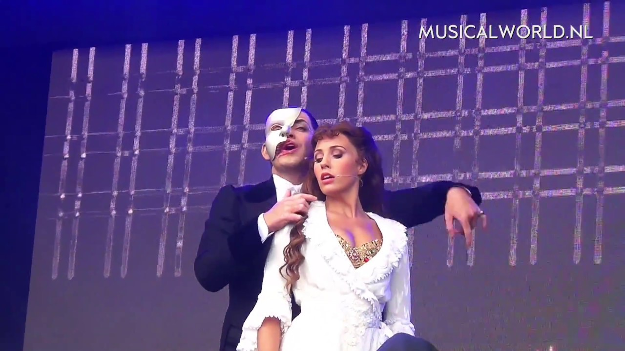 West End Live 2017 - Celinde Schoenmaker & Ben Forster - Phantom Medley  (The Phantom of the Opera)