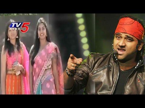 Music Director Devi Sri Prasad, Geetha Madhuri and Hemalatha at VNR VJIET Cultural Fest   TV5 News