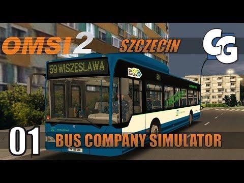 OMSI 2 Bus Company Simulator - Ep. 1 - Fikcyjny Szczecin - Line 59 - OMSI 2 BCS Gameplay