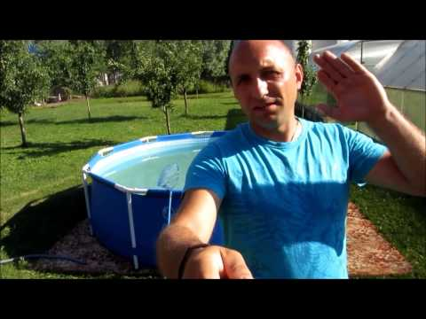 Каркасный бассейн intex 305см * 76см