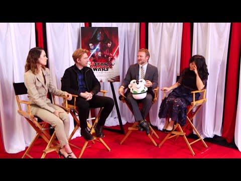 Star Wars: The Last Jedi Q&A FULL Cast Facebook Live  (12/1/17) Daisy Ridley, Mark Hamill