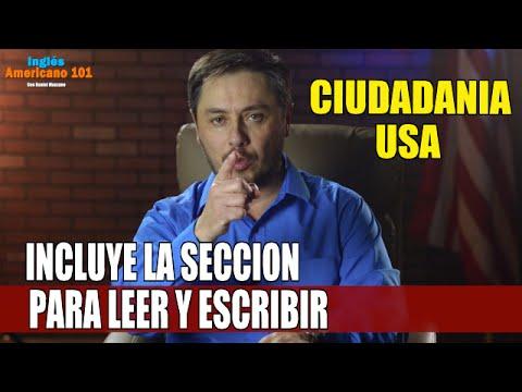 EXAMEN DE LA CIUDADANIA USA.COMPLETO CON TRADUCCION. APRUEBE SU EXAMEN!