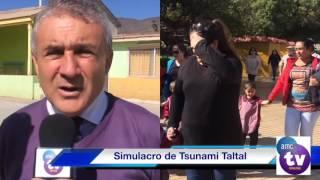 Simulacro de Tsunami en Taltal agosto de 2016