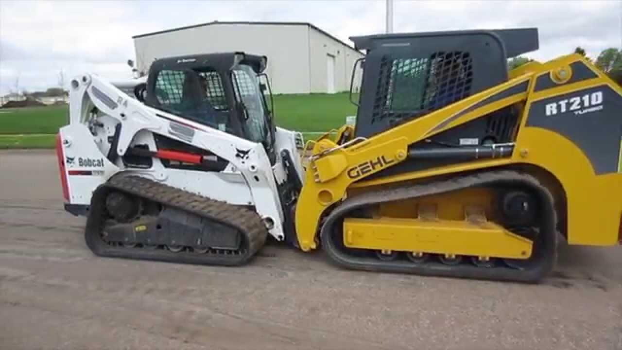 GEHL RT 210 vs Bobcat T 650