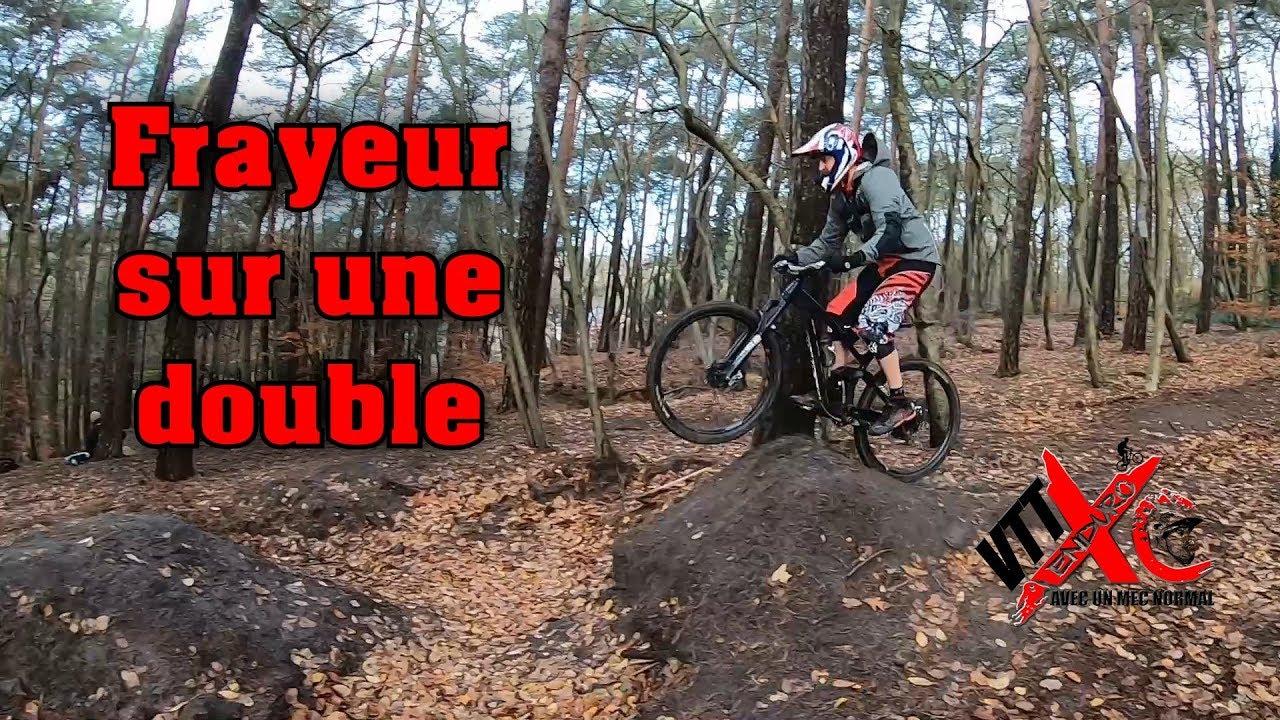 VTT Petite Frayeur sur une Double