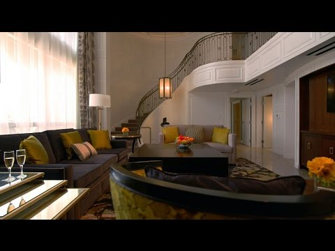 Julius Executive Duplex Suite Premium Tower Suites Caesars Palace Las Vegas Youtube