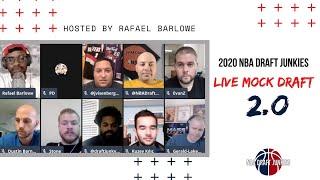 NBA Draft Junkies Live Mock Draft 2.0
