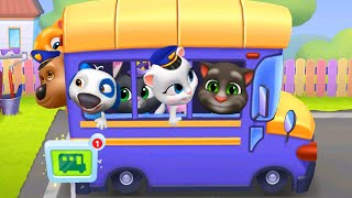 MY TALKING TOM FRIENDS 🎃 ANDROID GAMEPLAY #9 - TAKING TOM AND FRIENDS BEST MOMENTS BY OUTFIT
