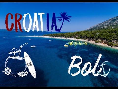 Bol (Insel Brac/ Kroatien) - Impressionen aus der Luft : Som