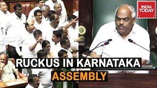 Ruckus In Karnataka Assembly As Coalition Wants More Time To Prove Majority thumbnail