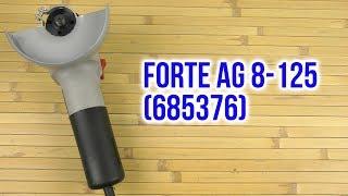 Розпакування Forte AG 8-125 685376