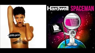 Rihanna ft. David Guetta - Right Now w/ Hardwell - Spaceman