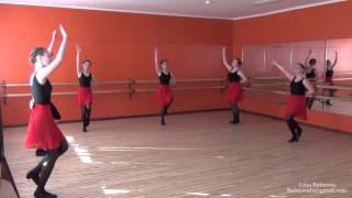 Урок народного танца Часть І