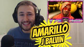 REACCIÓN J Balvin - Amarillo (Official Video) [COLORES]