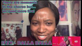 ITZY  - DALLA DALLA (달라달라) MV Reaction