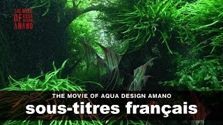[adaview] The Movie Of Aqua Design Amano [side:concept] - Sous-titres Français