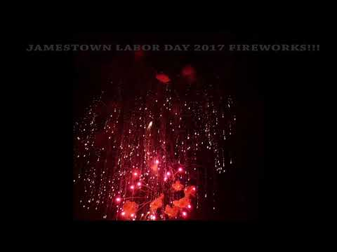 JAMESTOWN'S LABOR DAY FIREWORKS