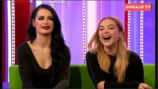 BBC The One Show 26/02/2019 Florence Pugh, Paige & Dani Dyer's family