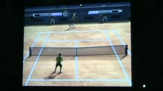 test de maxime de virtua tennis 4 sur wii