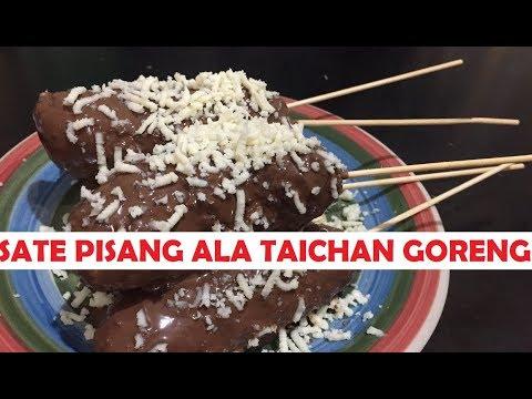 5 Tahap Cara Membuat Sate Pisang Ala Taichan Goreng Nyumyyy Youtube