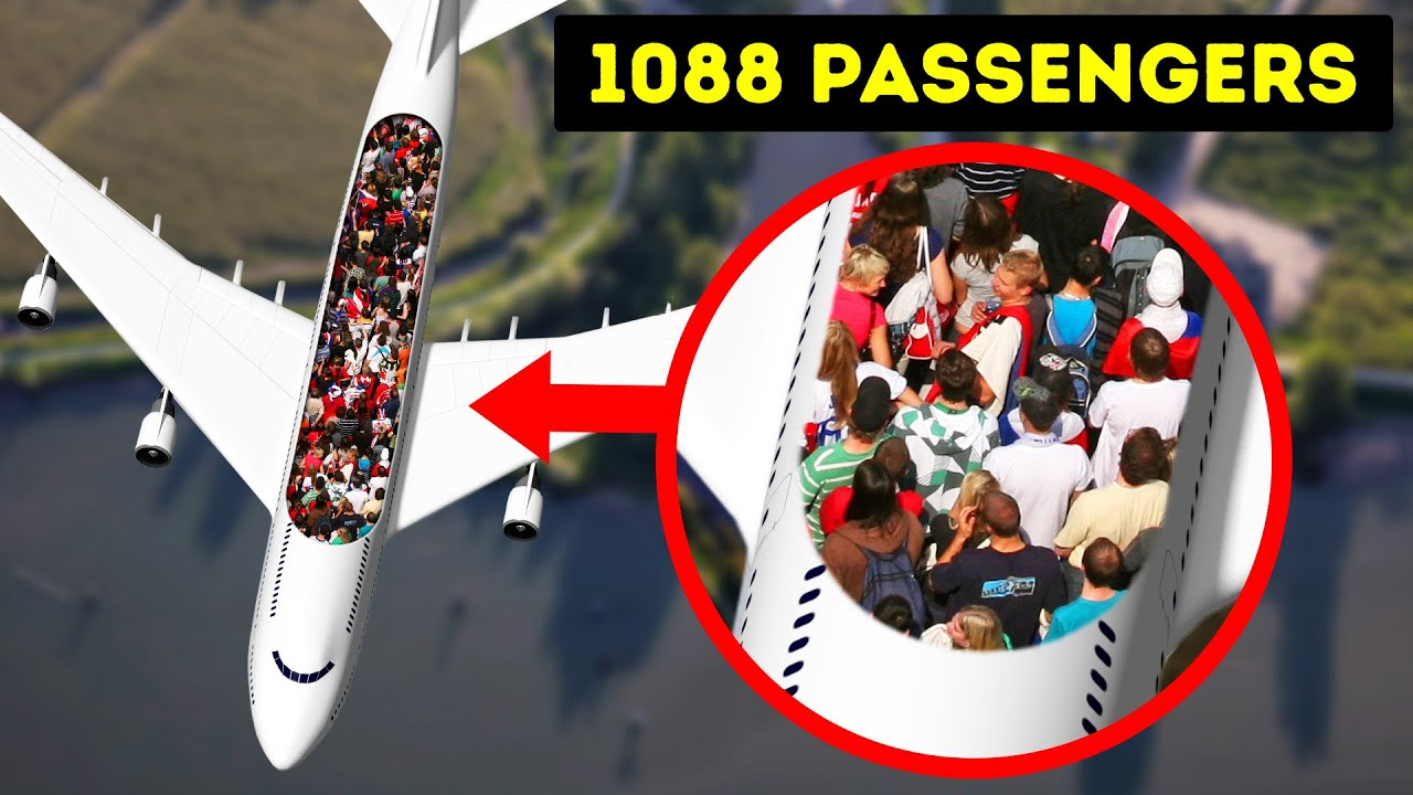 They Fit 1,000 People on Record Flight, See How