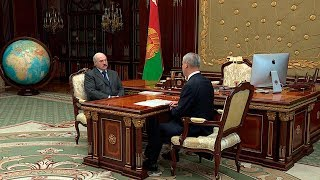 Лукашенко обсудил с Андрейченко работу парламента и подготовку к сессии ПА ОБСЕ