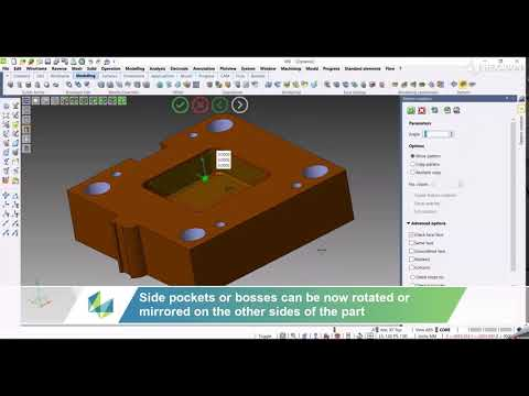 CAD - Pattern | VISI 2022.0