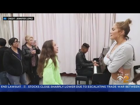 JLo's Daughter Shows Off Singing Mp3