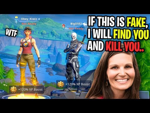 MOM THREATENS ME After I GIFTED Her Kid FREE V-BUCKS on Fortnite! (Playground Fill)