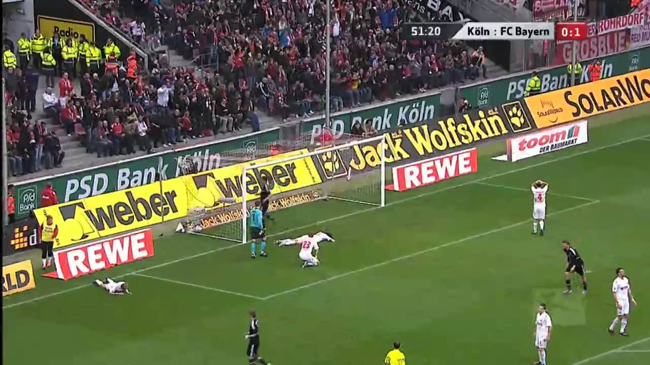 Cologne Vs Bayern Munich Youtube