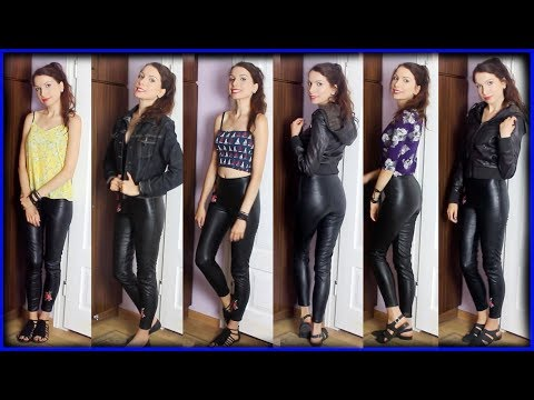 how-to-style-embroidered-faux-leather-leggings-/-pants-from-h&m
