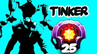 CRAZY TINKER SPAMMER - LVL 25 DOTAPLUS, SMURF OF FUNKEFAL?! EPIC Dota 2 Gameplay