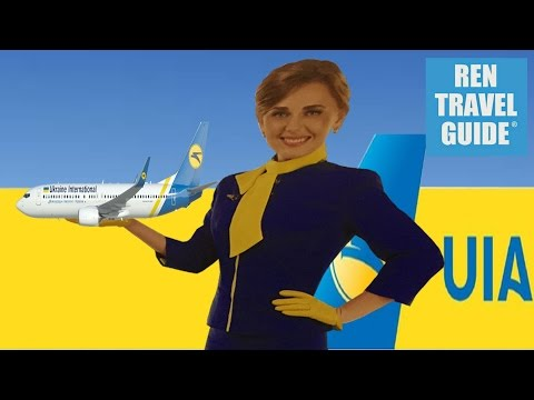 Fly with UIA! Ukraine International Airways