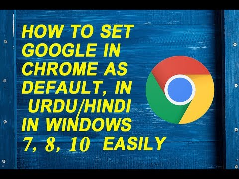 how to change default search engine in chrome windows 7