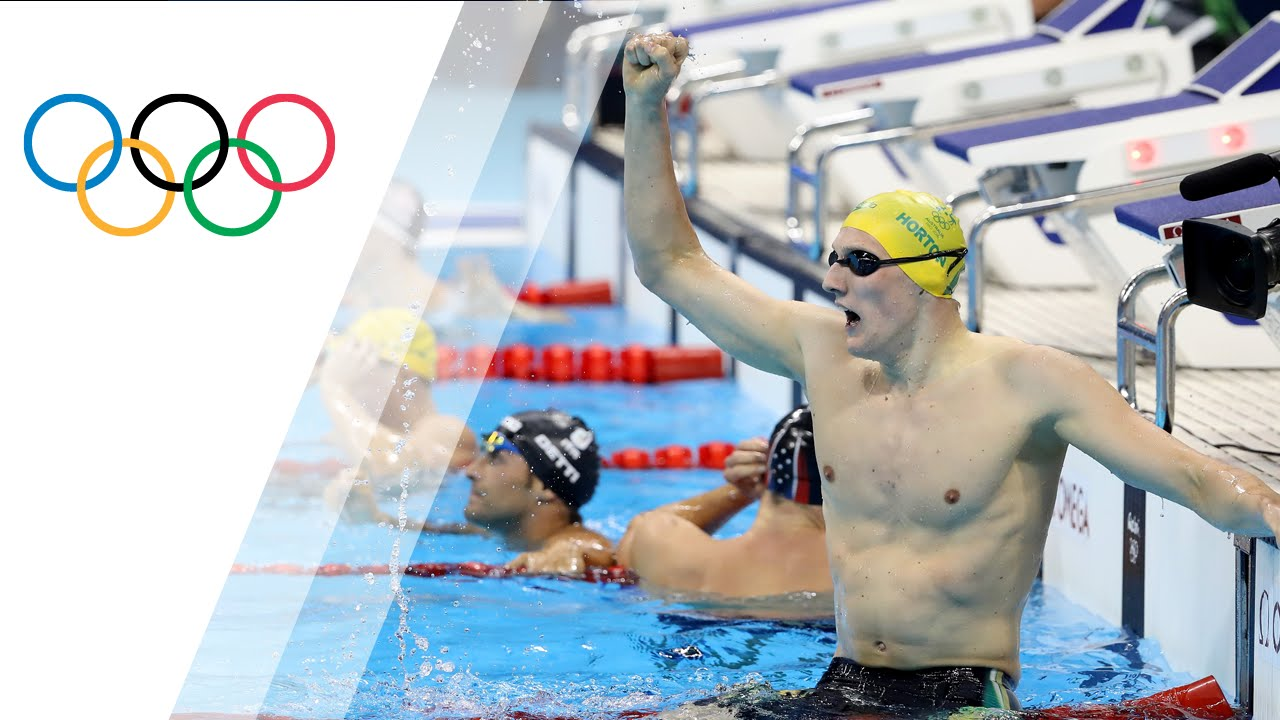Australia's Horton wins gold in Men's 400m Free