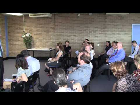 Institute Managers forum, March 2014 - Q&A with Peter Roberts
