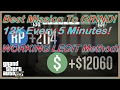 GTA 5 Online BEST Mission To Grind! Easy 12K Every 5 Minutes!