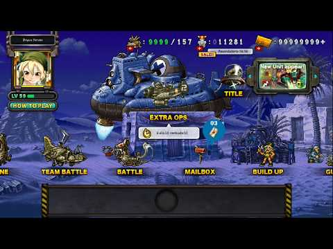 METAL SLUG ATTACK (MSA) 13mil medallas por Spacey Nokana