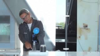 Laboratorium Fizyczne bada skroplony gaz ziemny (LNG)