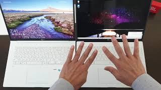 이것은 대형 모니터인가 노트북인가 ?! 엘지 뉴 그램 LG NEW GRAM