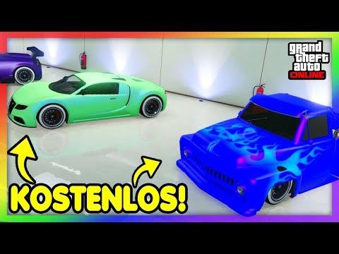 😍 JEDES AUTO KOSTENLOS bekommen in GTA ONLINE !! 😱 Neuer 2 SPIELER GIVE CARS TO FRIENDS GLITCH !! 😍