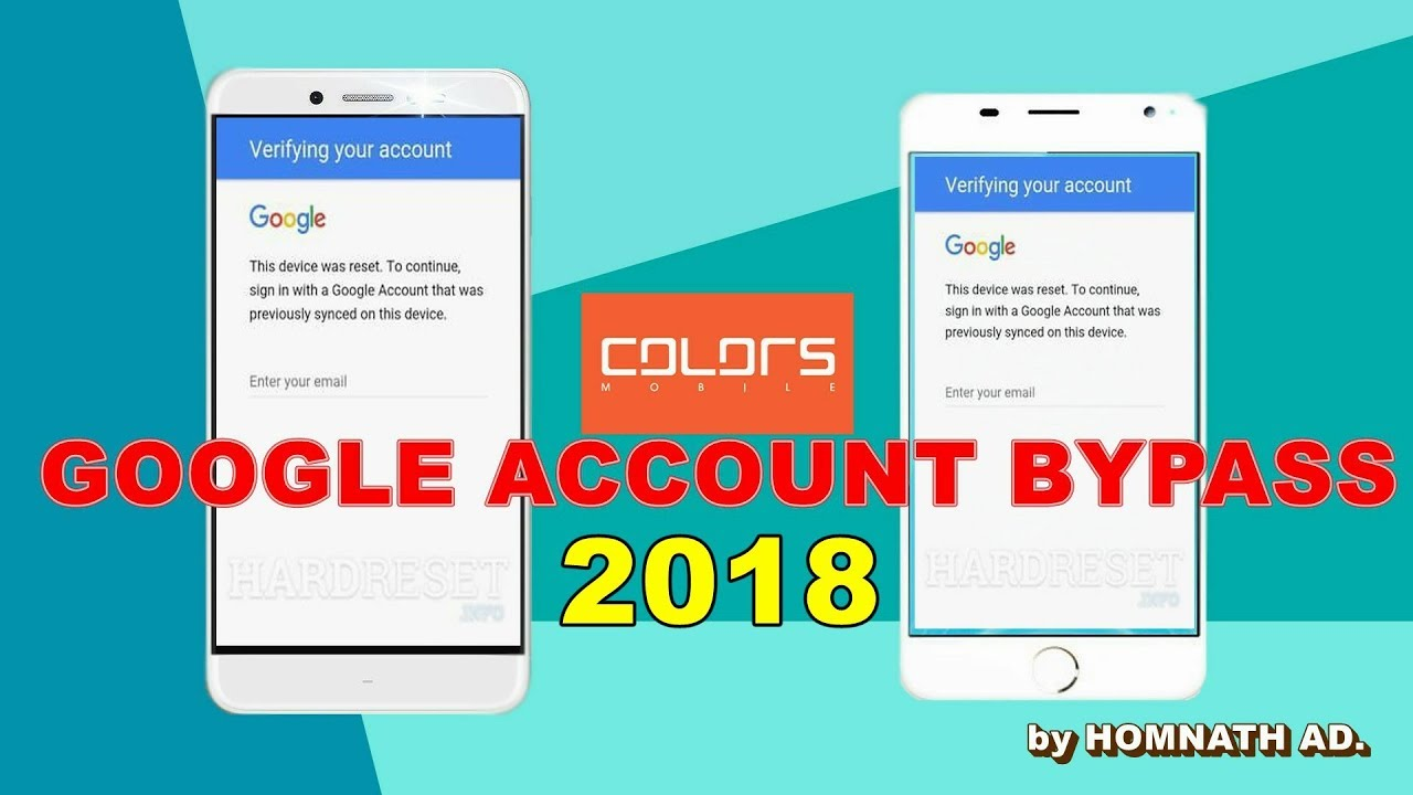 Colors google account bypass, colors p85 frp bypass