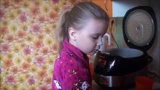 Учимся готовить. Яичница в хлебе в мультиварке (мастер-класс).